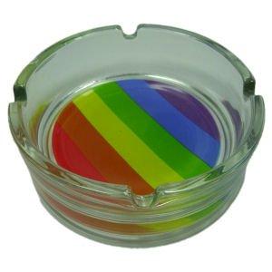 Gay Rainbow Sisters Gay Pride Ashtray