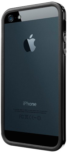 国内正規品SPIGEN SGP iPhone5/5S ケース ネオ・ハイブリッド EX スリム ビビッドシリーズ [ソウルブラック] SGP10093