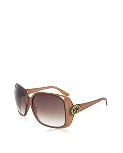 Gucci Women's GCC3166S Sunglasses, Brown