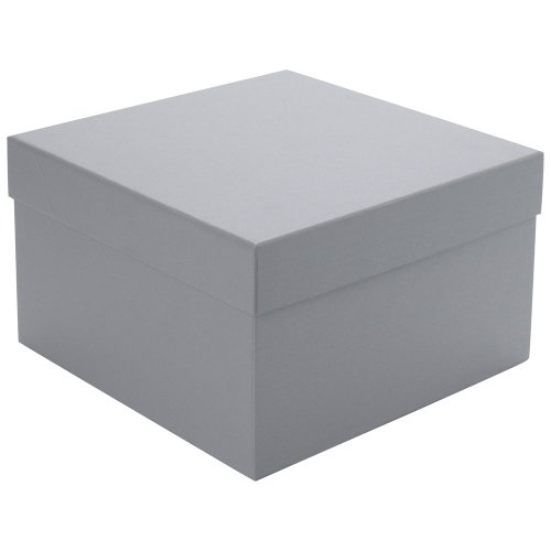Paperchase large silver pearlised gift box