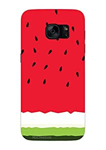 MiiCreations 3D Printed Back Cover for Samsung Galaxy S7,Watermelon