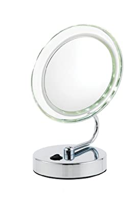 Best Cheap Deal for Danielle D411 Low Profile LED Vanity Mirror, 10x by Danielle - Free 2 Day Shipping Available
