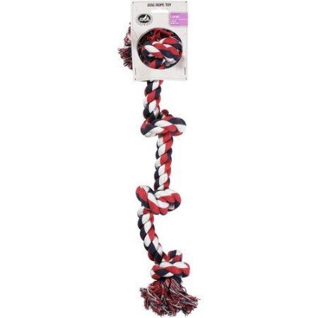 Pet Champion 4 Knot Large Dog Rope Toy (Champion Dog Toys compare prices)