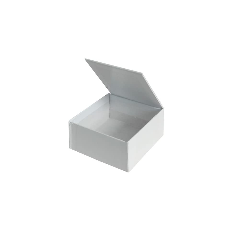 Decorate Me Jewelry Box   2 3/16 x 4 7/16 x 2 13/16   Pack of 24   White