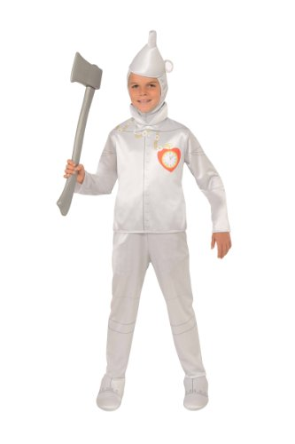 Wizard Of Oz Halloween Sensations Tin Man Costume, Small (75Th Anniversary Edition) front-1015642