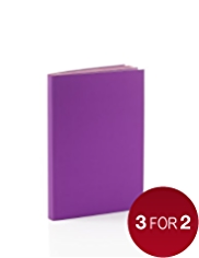Premium A6 Purple Notebook