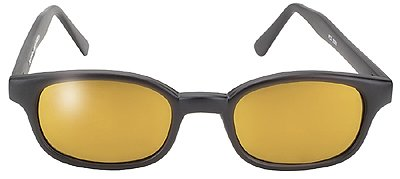 PACIFIC COAST SUNGLASSES BLACK KD'S GLD/GLD MIRROR - 2000