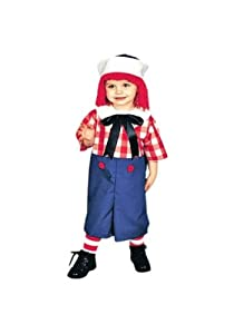 Toddler Raggedy Andy Costume Toddler (2-4)