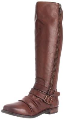 Steve Madden Women's Saviorr Knee-High Boot,Brown Leather,5 M US