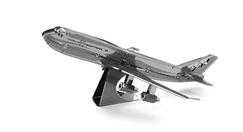 Fascinations Metal Earth Boeing 747 Airplane 3D Metal Model Kit (Boeing 747 Model compare prices)
