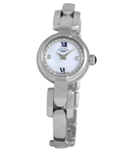 Rotary Mother Of Pearl Ladies Watch - LB02850/07