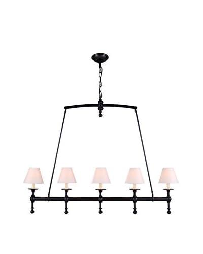 Urban Lights Liberty 5-Light Pendant Lamp, Bronze