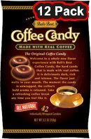 Bali'S Best Coffee Candy - 12 Pack Case Of 42 Pieces - 5.3 Oz Bags