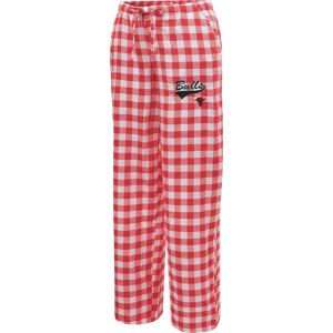 NCAA Chicago Bulls Ladies Red-White Paramount Plaid Pajama Pants (X-Large) at Amazon.com