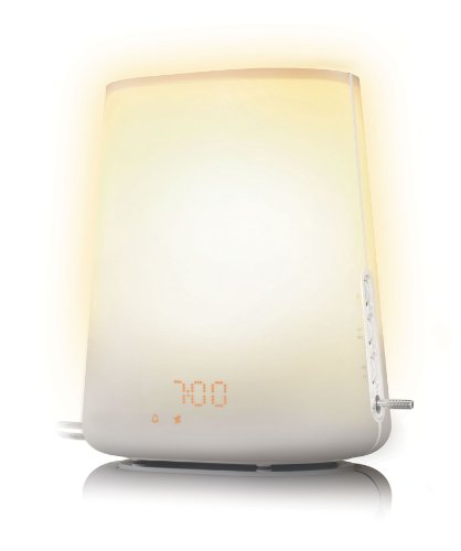 Philips HF3480/01 Wake-Up Light inkl. Dämmerungssimulation (Nachfolger vom HF3475)