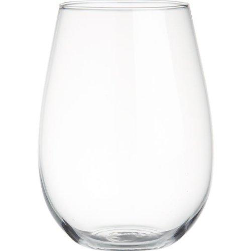 The Cellar Glassware, Set Of 4 Premium Stemless Wine Glasses