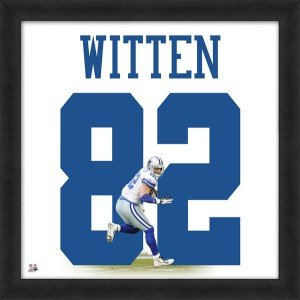 Jason Witten Dallas Cowboys 20x20 Framed Uniframe Jersey Photo by Biggsports