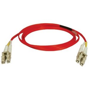Tripp Lite Fiber Optic Duplex Patch Cable. 5M Duplex Fiber Multimode Lc/Lc 62.5/125 Patch Cable Red Fiber. Lc Male - Lc Male - 16.4Ft - Red
