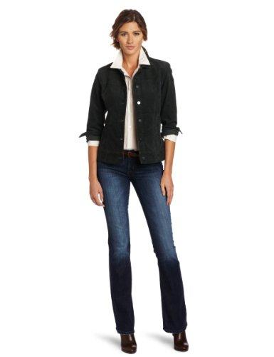 Pendleton Women's Cassidy Stretch Cord Jacket, Dark Spruce Stretch Corduroy, X-Small