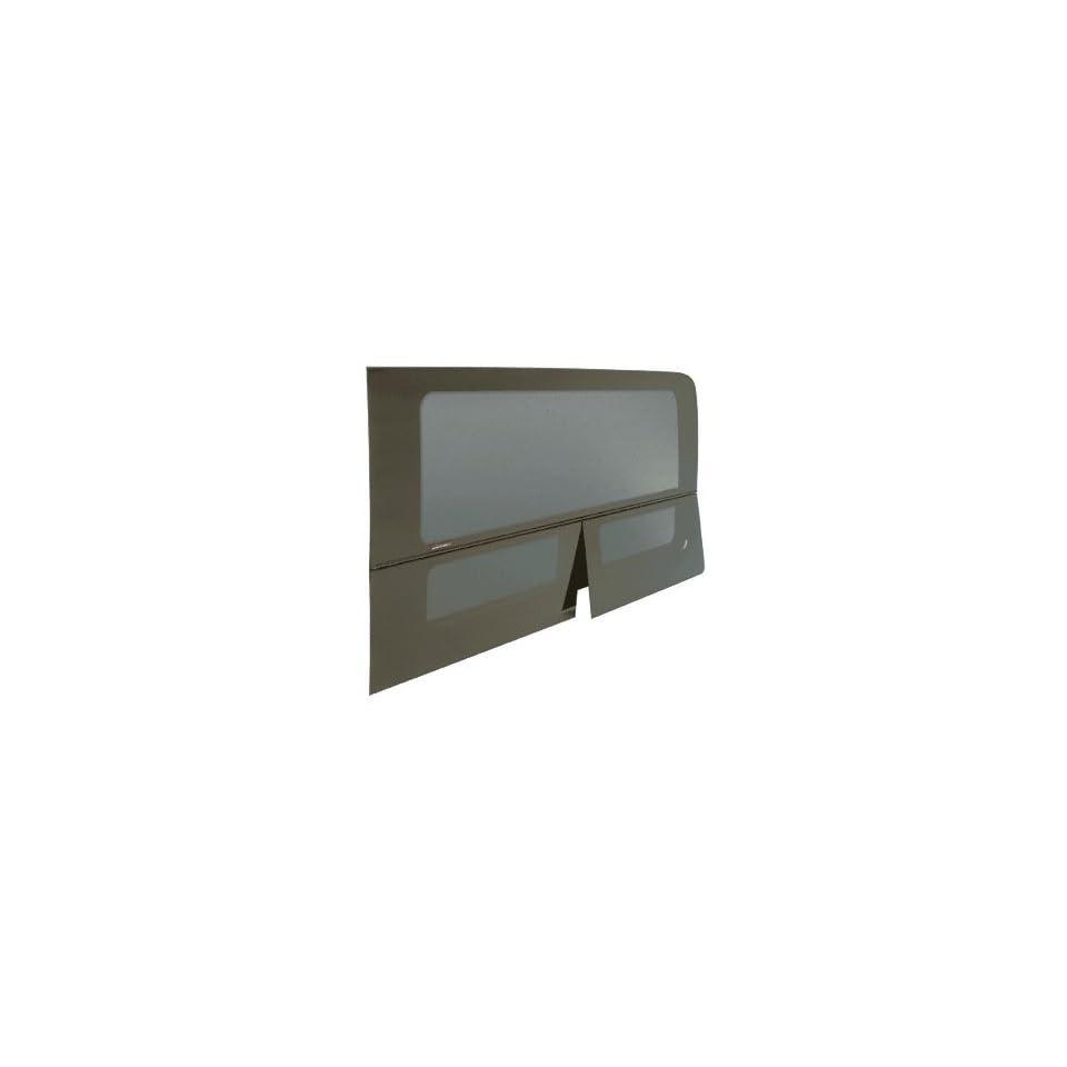 CRL 2007+ All Glass Look Sprinter Van T Vent Driver Side Rear Quarter Panel Window for 144 Wheel Base Van 57 x 21 1/2
