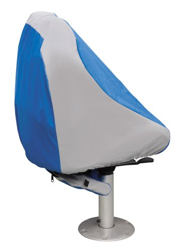 Classic Accessories HurricaneTM Always Ready Boat Seat Cover (Blue/Grey)