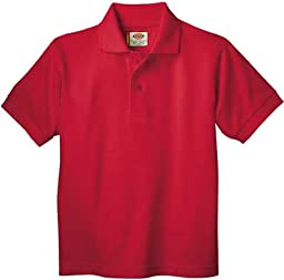 Dickies KS234 Toddlers\' Short Sleeve Pique Polo Shirt English Red Size 2T