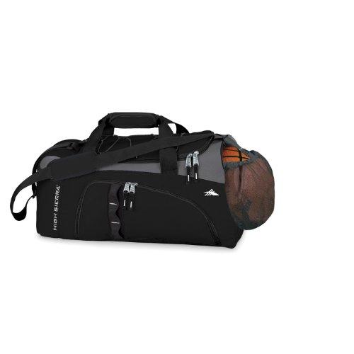 High Sierra Cross Sport Duffel Ballbusta Black, Charcoal