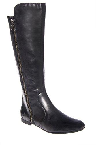 Pruitt Mid Calf Low Heel Boot