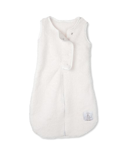 Little Giraffe Dreamsack Stretch Chenille Sleepsack, Cream, 3-6 Months