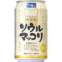 サントリー ソウルマッコリ 缶 350ml×24本