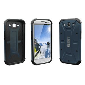 Urban Armor Gear GLXS3-COMP-SLT/BLK-VP Composite Case with Impact Resistant Bumpers for Samsung Galaxy S III/S3 - Aero