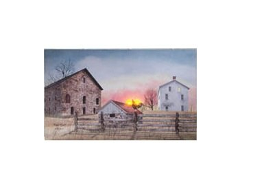Ohio Wholesale Radiance Lighted Early Riser Wall Art