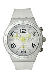 Swatch Irony Chrono Ray Of Light White Dial Men's watch #YCS4051