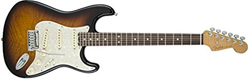 Fender Limited Edition American Elite Stratocaster Electric Guitar, 22 Frets, Modern C to D Neck, Rosewood Fingerboard, Gloss Polyurethane, 2-Color Sunburst (Fender Elite Stratocaster compare prices)