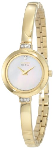 Citizen Women's EW9922-54D Eco Drive Gold Tone Watch