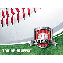 Baseball Invitations - 1
