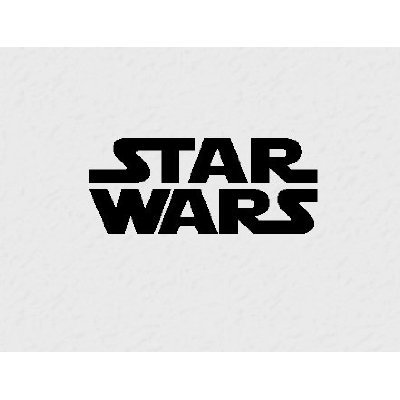 Star Wars vinyl decal 26x12 wall saying quote kids room home decor