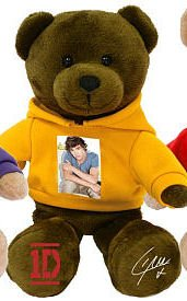 One Direction 9-in Collectible Bear - Liam - Yellow - 1d by i-Star Entertainment