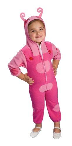 Toddler Deluxe Backyardigans Uniqua Costume Size 2-4T (Deluxe Uniqua Child Costume)