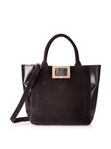 Roger Vivier Women's Borsa RV Shoulder Bag, Nero