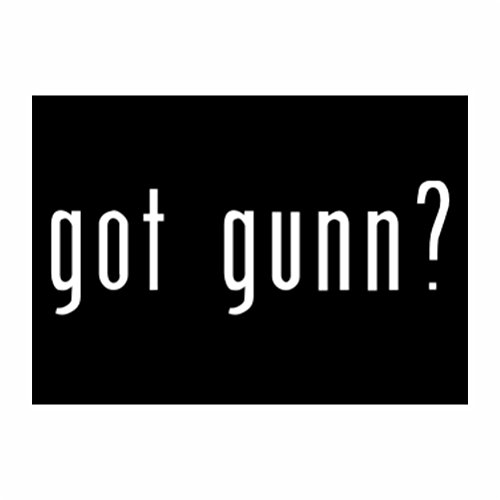 teeburon-got-gunn-sticker-pacchetto-di-4