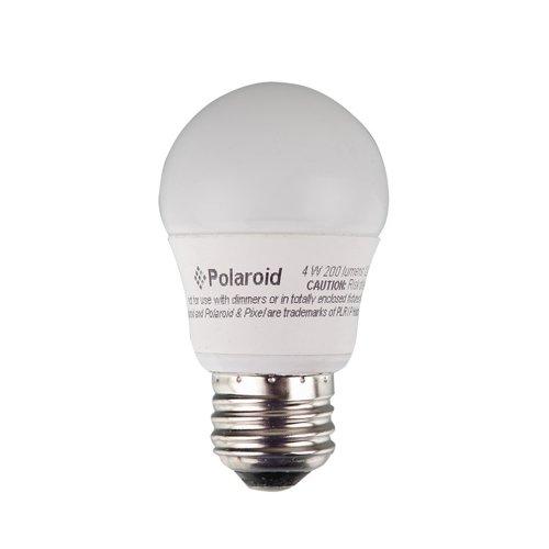 Polaroid Lighting Ploa15-25.200.4.1S 25-Watt Equivilent 200-Lumen A15 Non-Dimmable Led Light Bulb, Medium Base, Soft White