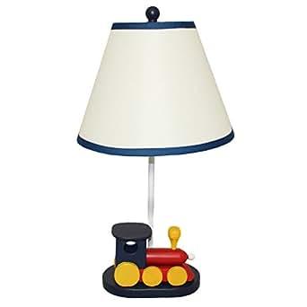 Siam Circus Casa Cortes 'Choo Choo Train' 21-inch Table Lamp