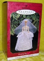1 X QXI6812 Wedding Day Barbie 4th Hallmark Ornament 1997