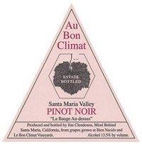 Au Bon Climat Pinot Noir La Bauge Au-Dessus Bien Nacido Vineyard 2002 750Ml