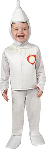 Rubie's Costume Baby's Wizard Of Oz 75Th Anniversary Tinman Toddler Costume, Multi,