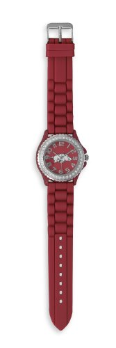 Collegiate Licensed University of Arkansas Ladies' Fashion Watch at Amazon.com