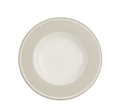 Villeroy & Boch Anmut Assiette creuse Savannah Cream 24 cm