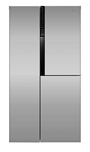 LG-Electronics-GS-9366-PZQZM-Side-by-Side-Khl-Gefrier-Kombination-A-179-cm-Hhe-396-kWhJahr-406-L-Khlteil-220-L-Gefrierteil-Linear-Kompressor-Total-No-Frost-Nie-wieder-abtauen