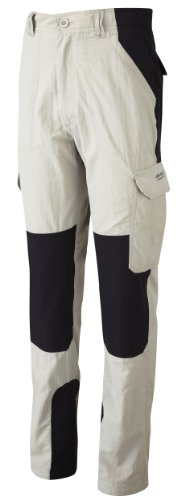 Bear Grylls by Craghoppers Men's Survivor Trouser Pants (Regular),Metal/Black ,32
